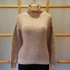 Joe Fresh Peach Turtleneck Sweater
